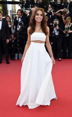 WERONIKA ZALAZINSKA The Best Red Carpet Looks from the Cannes Film Festival - ELLE.com