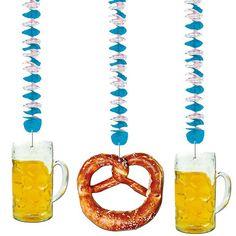 Oktoberfest Spiral-Dekoration