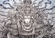 Trimurti: The Trinity by Abhishek Singh – Abhishek Singh Art