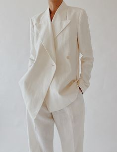 Chic Fall Fashion, Suit Fashion, Minimal Fashion, Kimono Fashion, Fashion Outfits, Womens Fashion, Casual Suit, Casual Chic Style, Suits For Women
