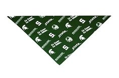 Michigan State University Dog Bandana (MEDIUM: 10-14 inches) *** Be sure to check out this helpful article.