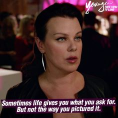 Sometimes life gives you what you ask for. But not in the way you pictured it. Click to watch Maggie (Debi Mazar) in the latest episode of Younger on TV Land.
