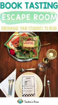 Want to make a HUGE impact with encouraging students to read? Use these step-by-step instructions to guarantee student engagement while they learn about how to work as a team to help a store owner, discover new book genres and ESCAPE THE CLASSROOM with a BOOK Tasting! With a little prep, your kindergarten, 1st, 2nd, or 3rd grade students will work as a team to break into a box, which breaks them out of the classroom as they beat the clock! #readingactivities #escaperoom #readingactivities