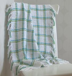 Excited to try this crochet technique! The Woven Blanket... ♥ By Atelje' Virkpia