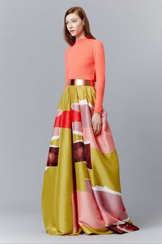 All the runway looks from Roksanda Ilincic: London Ready-to-Wear Pre-fall 2015