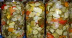 Stigla je jesen i većina vas traži recepte za zimnicu - Luda Krava Pickles, Salad Recipes, Cucumber, Healthy Life, Sausage, Mason Jars, Food And Drink, Menu, Canning