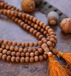 8mm Sandlewood Beads