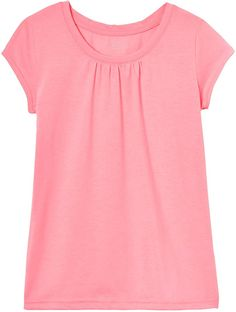 Polyester, Cotton Imported Pull On closure Machine Wash Poly Blend Jersey Gathers at chest Self fabric back neck tape Self fabric back neck tape Polo Shirt Girl, Baby Girl Shirts, Shirts For Girls, Kids Outfits Girls, Girl Outfits, Tee Shirts, Tees, Dress Collection, People