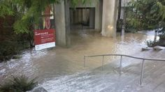 Major pipe bursts, floods UBC Museum of Anthropology