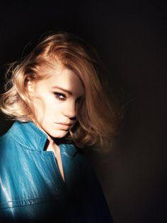 Léa Seydoux by David Sims for Vogue Paris April 2015