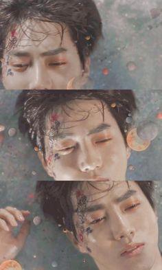 Suho is my true aesthetic Chanyeol Baekhyun, Park Chanyeol, Kpop Exo, Exo K, K Pop, Fanfiction, 5 Years With Exo, Kim Joon Myeon, Exo Lockscreen