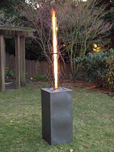 Rocket Stoves, Backyard, Patio, Diy Wedding, Sculptures, Candles, Lighting, Artwork, How To Make