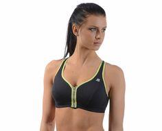 Shock Absorber - Active Zipped Plunge Bra Plunge Bra, Online Gratis, Stay Fit, Zip, Medium, Fitness, Fashion, Moda, Keep Fit