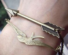 Hunger Games bracelets.