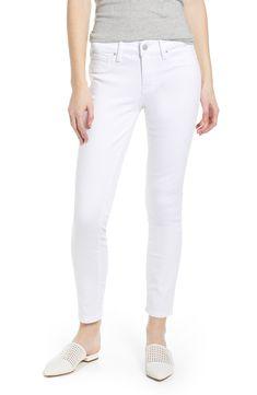 984c7e99c58be0 Vero Moda Vmseven Nw S Shape Up Jeans White Noos, Vaqueros Slim para Mujer