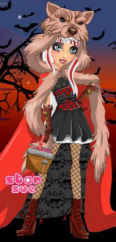 Next Monday @ StarSue.Net : Ever After High Cerise Hood Rebel Style dress up game! (4 Aug. 2014)