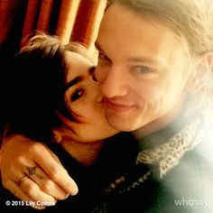 Lily Collins & Jamie Campbell Bower
