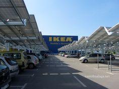 Solar panels for parking lot - Ikea!