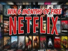 Enter this giveaway for your chance to win 6 Months of Free Netflix. Open Worldwide and Ends May 31, 2018