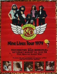 REO Speedwagon Concert Poster