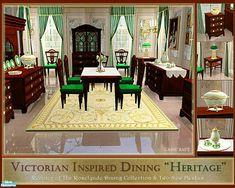 cashcraft's Victorian Heritage Dining Room