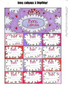 Free printable des bons cadeau pour offrir un cadeau vos proches no l christmas - Idee cadeau nouvelle maison ...