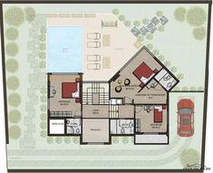 فيلا فخمة سوبر ديلوكس - 5 غرف نوم 5 حمامات صالون و مطبخ مساحة الأرض 500 مترمربع » arab arch