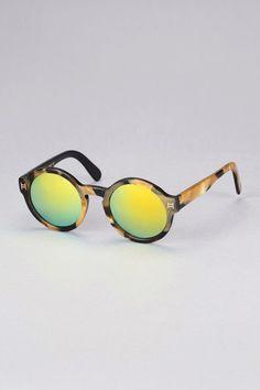 HIPANEMA FOR AMENAPIH Lunettes de soleil rondes montures léopard Rondgo 917589c7ee80