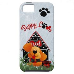 Puppy Love Paws IPhone5 Vibe Case