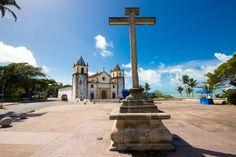 Igrejas centenárias de Olinda e Recife sofrem com estruturas precárias. Na foto, a Igreja de São Salvador do Mundo, em #Pernambuco. Foto: Matheus Britto/Folhapress.