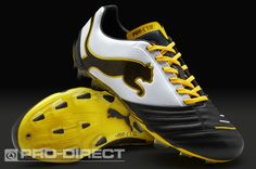 Puma Football Boots - Puma PowerCat 1.12 FG - Firm Ground - Soccer Cleats -  Black c82eb88b6066a