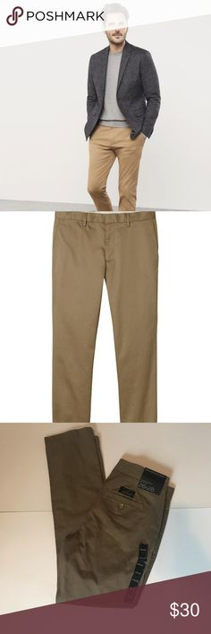 Steady Ralph Lauren Polo Khaki Flat Front Chino Pants Mens Size 30 X 32 Nwt Wide Selection; Pants