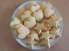 Biscoito de fécula de batata - trocando a farinha de trigo por farinha de arroz e a margarina por manteiga ghee