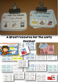 Quick and easy to grab in any busy kindergarten - Autism - Special Ed classroom.