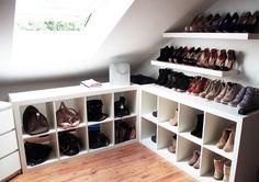 Un beau rangement de chaussures ...
