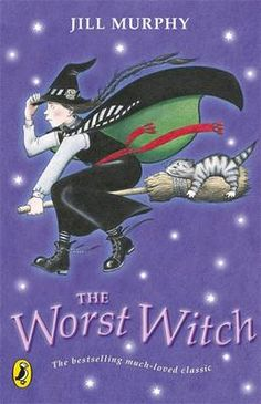 The Worst Witch by Jill Murphy An absolute joy to read.  Books for girls #Lottie dolls #love reading