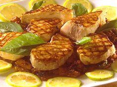 Swordfish And Caponata Di Melanzanes Recipe : Tyler Florence : Food Network - FoodNetwork.com