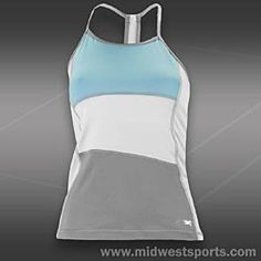 Sofibella Morning Mist Tennis Tank - Made in the USA