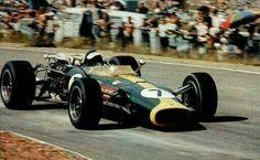 1967 SAGP, Kyalami : Jim Clark, Lotus-BRM 43-H16 #7, Team Lotus, Retired (engine, lap 22). (ph: © Keystone)