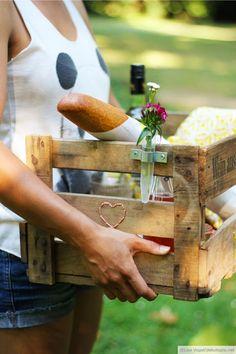 2-in-1-Picknickkorb