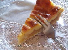 Crostata con composta di pere alla vaniglia