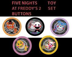 Cinco noches en grupos de botones de 2-15 pulgadas por OddPenguin