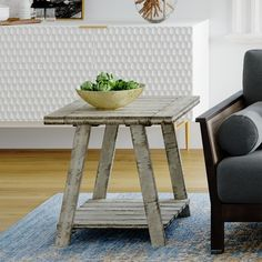Carbon Loft Winnarda Urban Rustic End Table, Gray End Table Sets, End Tables With Storage, Coffee Table With Storage, Side Tables, Farmhouse End Tables, Rustic End Tables, Urban Rustic, Nesting Tables, Weathered Wood