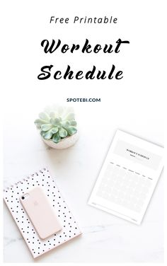 Create a workout plan that suits your needs, schedule your workouts and keep track of your fitness progress with our free workout schedule template! https://www.spotebi.com/fitness-tracker/workout-schedule-template/