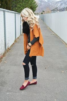 Oversized Cape Cardigan/ already have these shoes in black but ide love to get some int his color as well