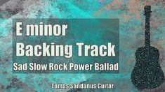 E minor Backing Track Em is my new guitar jam track, backtrack in Sad Slow Rock Power Ballad Style. This E minor Backing Track Em Sad Slow Rock Power Ballad . Backing Tracks, Guitar Chords, Guitars, Instruments, Sad, Rock, Skirt, Guitar Chord, Locks
