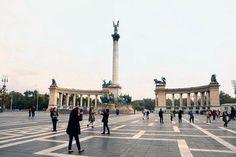 Budapest, Plaza de los Héroes. Foto de Tobia Bordoni