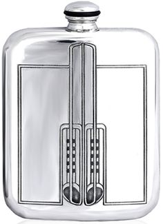 Charles Rennie Mackintosh, hip flask