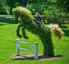 #caballo #horse #patio #terraza #decoexterior