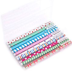 Spots & Stripes Gel Ink Pens (10pc-set), 20% discount @ PatPat Mom Baby Shopping App